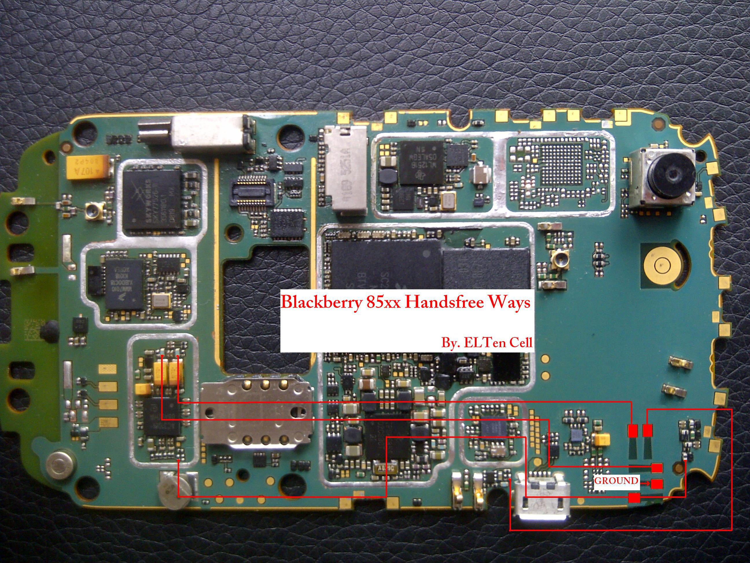 Blackberry 85xx Handsfree Solutions